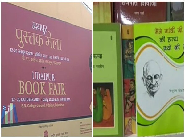 Visuals from the nine-day Udaipur Book Fair (Photo/ANI)