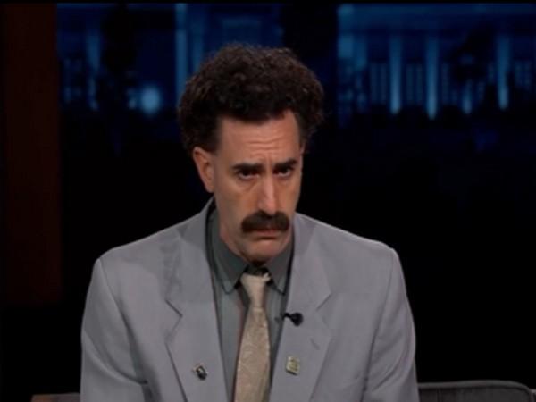 Sacha Baron Cohen as Borat (Image Source: Instagram)