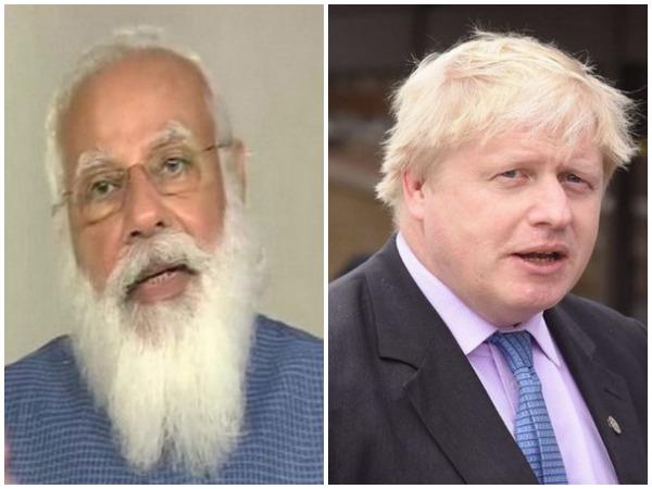 Prime Minister Narendra Modi and UK Prime Minister Boris Johnson (File Photo)