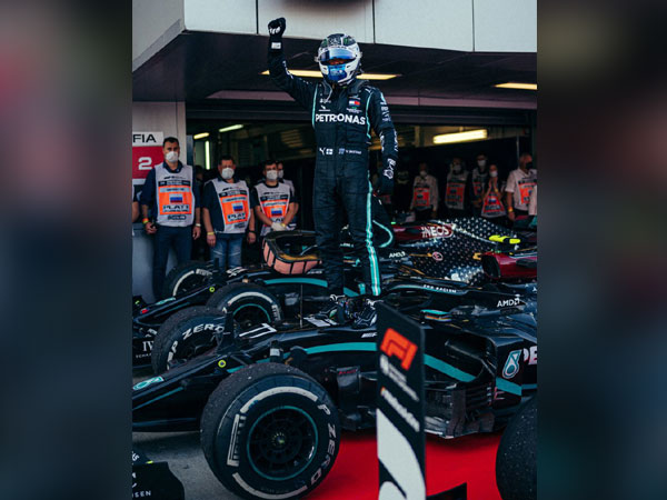 Mecedes' Valtteri Bottas (Photo/Mercedes-AMG F1 Twitter)