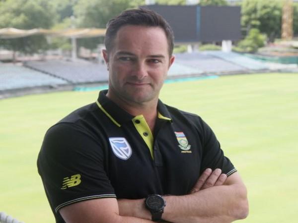 South Africa head coach Mark Boucher (Photo/ Cricket South Africa Twitter)