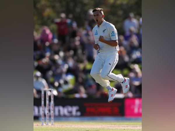 New Zealand's fast bowler Trent Boult