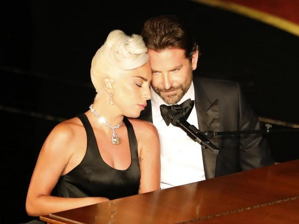 Lady Gaga and Bradley Cooper during their performance at 91st Academy Awards