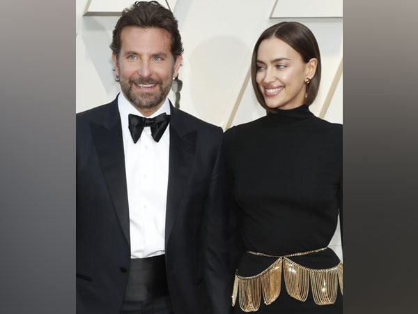 Bradley Cooper and Irina Shayk at Oscars red carpet