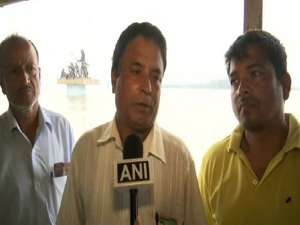 Vipul Gandhiya, Inland Water Transport, Section Officer, Guwahati kachamari Ferry Service talked to ANI on Thursday about rising levels of Brahmaputra