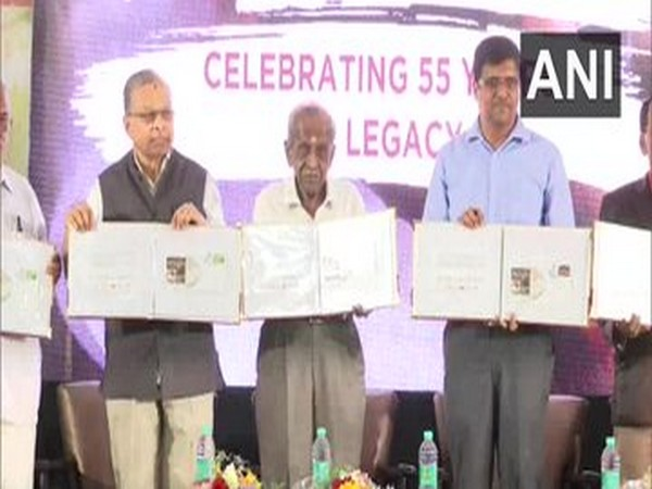 Special postal cover released to mark 55 years of Brahmins' Coffee Bar