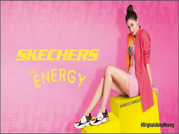 Brand ambassador, Ananya Panday launching the new Skechers Energy Racer Sneakers and Skechers D'Lites in India