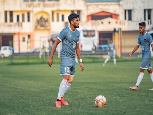 FC Goa and India midfielder Brandon Fernandes (Photo/ AIFF)