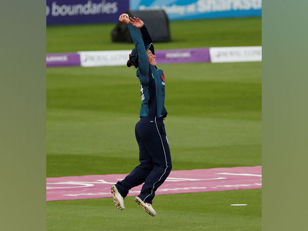 England cricketer Georgia Elwiss