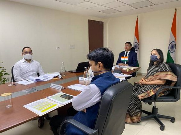 Visual from the meeting. (Photo courtesy: PIB)