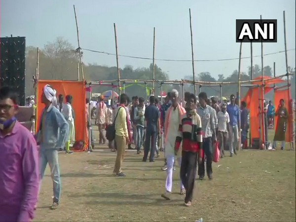 Visual from Brigade Ground in Kolkata