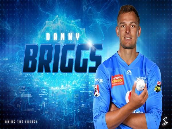 England spinner Danny Briggs (Photo/ Adelaide Strikers Twitter)