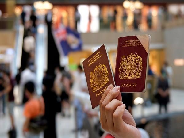 British National (Overseas) passports (Photo Credit - Reuters)