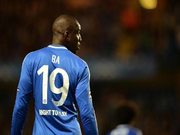 Demba Ba (Photo: Twitter/Chelsea FC)