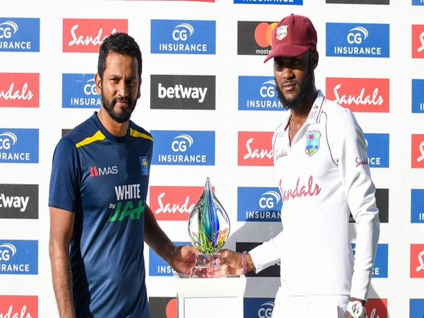 Two-match series between Windies and Lanka is shared (Photo/ ICC Twitter)