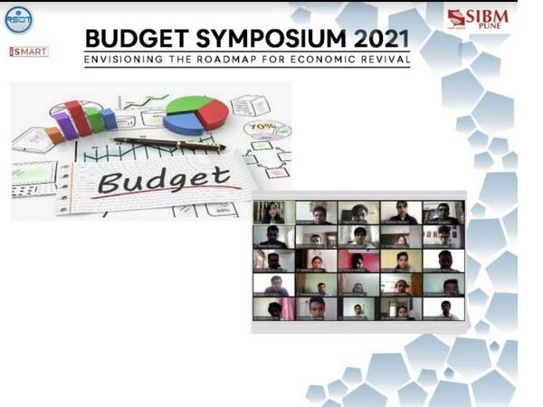 Budget Symposium at SIBM Pune