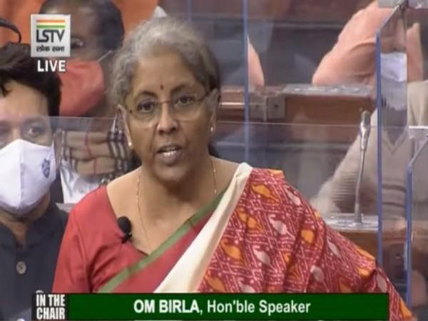 Union Finance Minister Nirmala Sitharaman presenting the Union Budget 2021-22 on Monday.