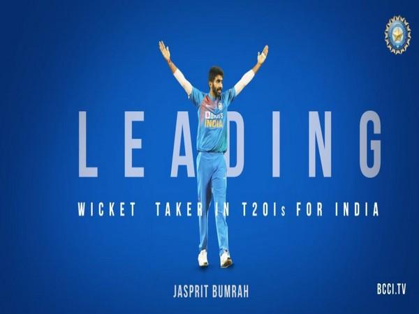 India pacer Jasprit Bumrah (Photo/ BCCI Twitter)