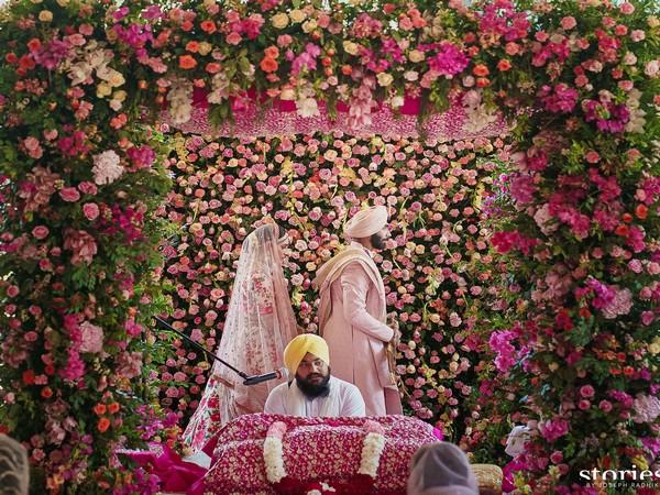 Indian pacer Jasprit Bumrah and Sanjana Ganesan (Photo/ Jasprit Bumrah Twitter)