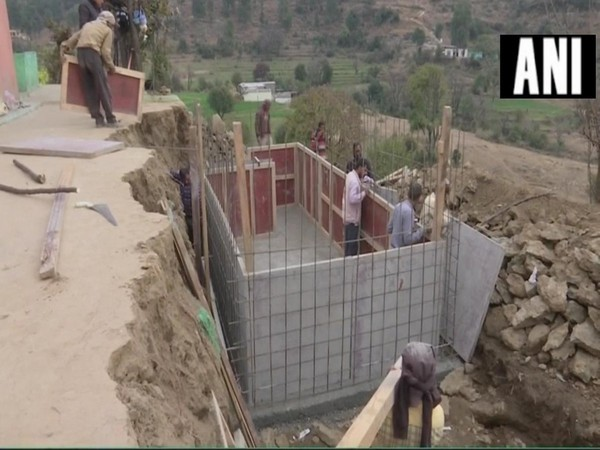 Bunkers being constructed in bordering areas of Rajouri