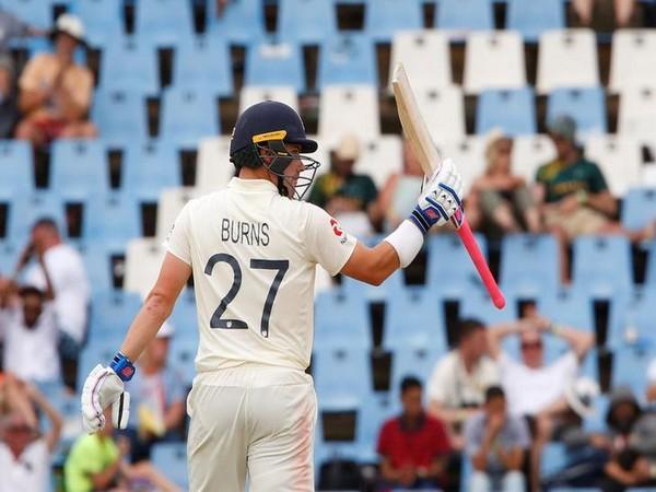 England batsman Rory Burns