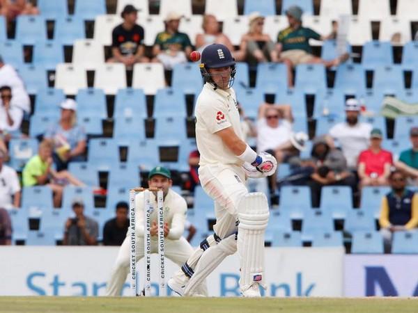 England opening batsman Rory Burns