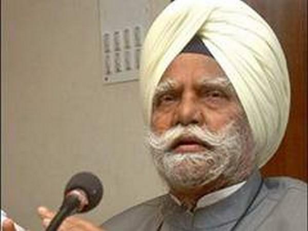 Veteran Congress leader Buta Singh (File pic)