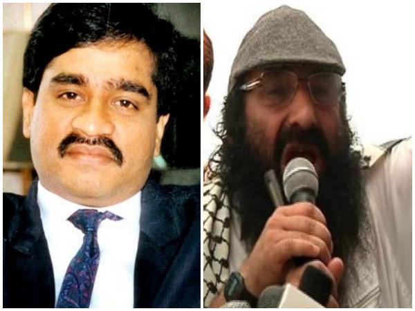 Wanted criminals Dawood Ibrahim and Sayeed Salahudeen (file photo)