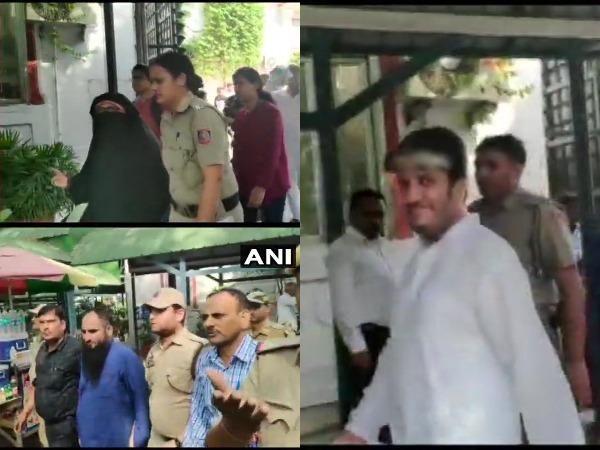 NIA gets 10-day custody of separatist Shabbir Shah, Asiya Andrab and Masarat Alam Bhat on Tuesday.