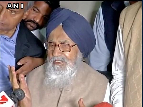 SAD patriarch Parkash Singh Badal (File Photo)
