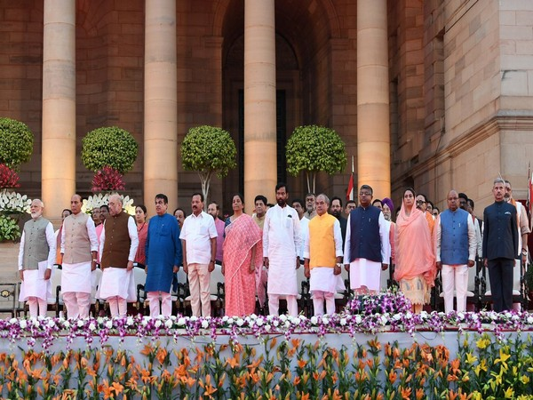 Cabinet Ministers who took oath on Thursday (File Photo/PMO India)