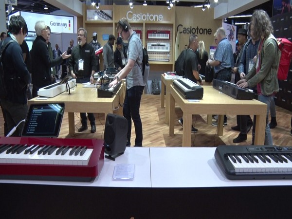 Casio introduces musical instruments in California