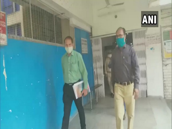 CBI team visits Aligarh Jail, AMU's Jawaharlal Nehru Medical College in connection with Hathras incident on Monday. Photo/ANI