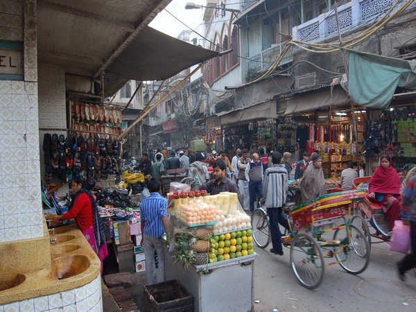 View of Chandni Chowk Market area (File image)