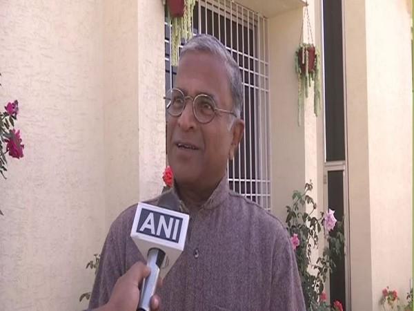 Deputy Chairman of the Rajya Sabha Harivansh speakig to ANI on Monday. (Photo/ANI)