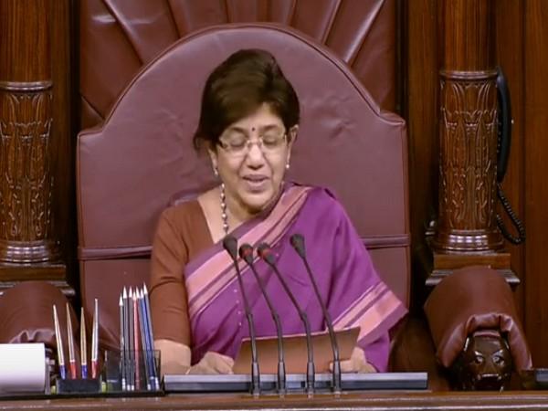 Member of Parliament, Vandana Chavan (Photo/ANI)