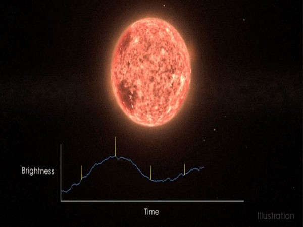 An artist's rendering of the AU Mic star system. (Image courtesy: NASA's Goddard Space Flight Center)