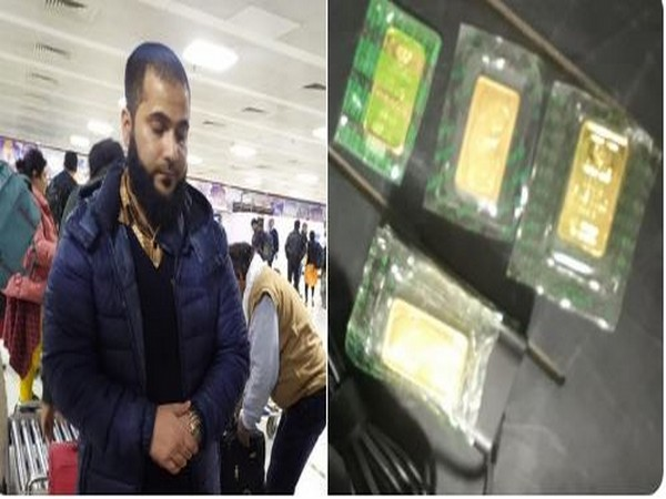 The passenger identified as Asif Hussain Shah was handed over to customs for further probe. (Photo credit: CISF Twitter)
