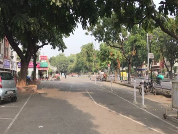 Chandigarh's sector 22 area a day after Diwali. (Photo/ANI)