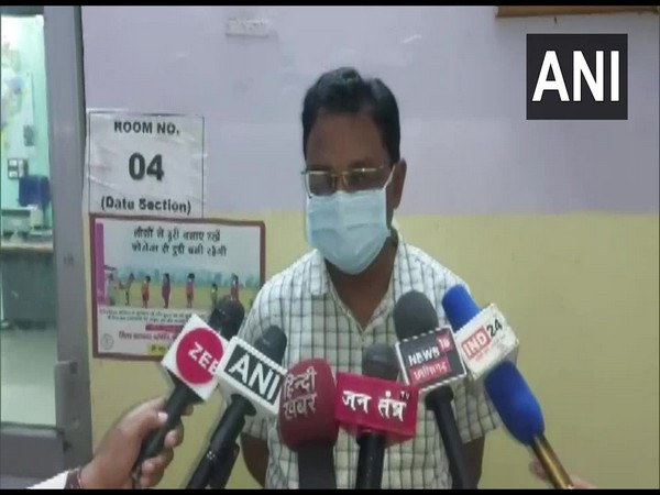 CMHO Mithilesh Chaudhary speaking to media on Wednesday. (Photo/ANI)
