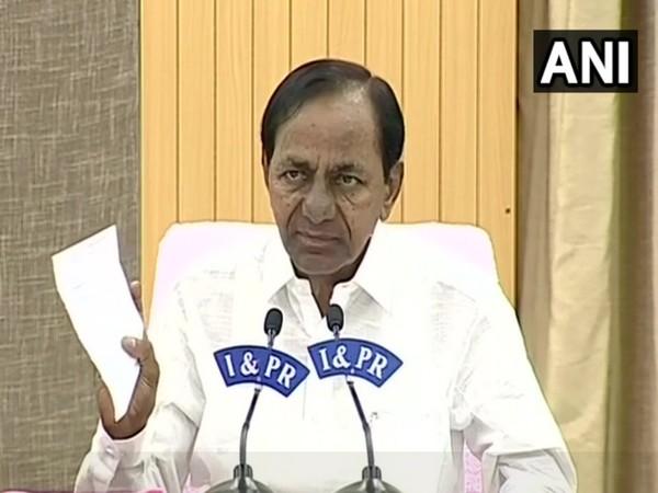 Telangana CM K Chandrashekar Rao [File Photo]