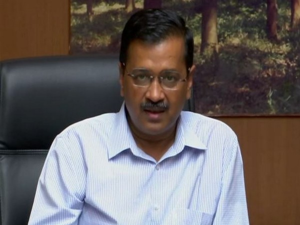 Delhi Chief Minister Arvind Kejriwal addressing a press conference in New Delhi on Friday. Photo/ANI