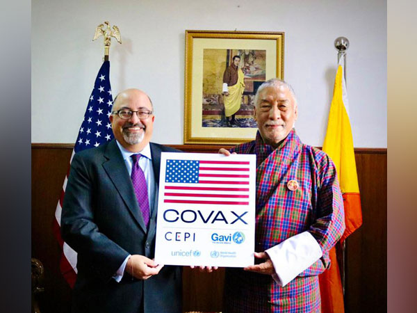 US' gift of 500,000 COVID-19 vaccines arrive in Bhutan (Photo Credit:Charge d'Affaires Atul Keshap Twitter)