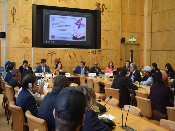 Baloch activists addressing the 42nd UN Human Rights Council session in Geneva