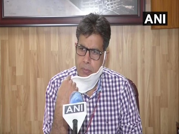 CPRO Northern Railways Deepak Kumar speaking to ANI in New Delhi on Monday. (Photo/ANI)