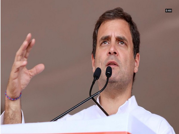 Congress MP Rahul Gandhi (File photo/ANI)