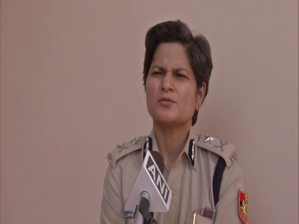 Meenu Chaudhary, Joint Commissioner of Police (CP) Delhi Traffic. (Photo/ANI)