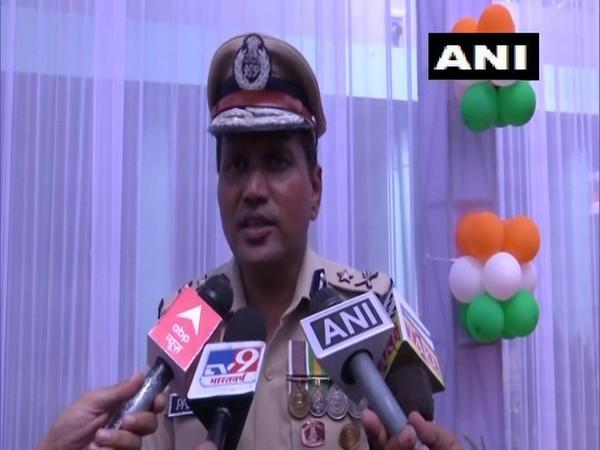 Inspector-General of Police, Jammu,  PS Ranpise (Photo/ANI)