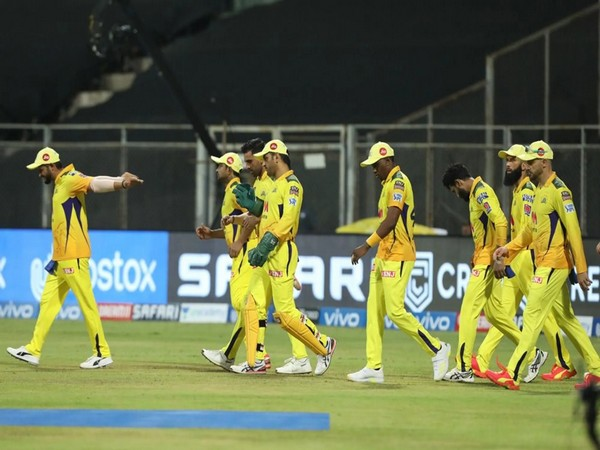MS Dhoni-led CSK entring the field. (Photo/ iplt20.com)