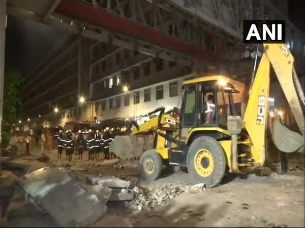 A portion of foot over bridge had collapsed near CSMT on Thursday. (File Image)